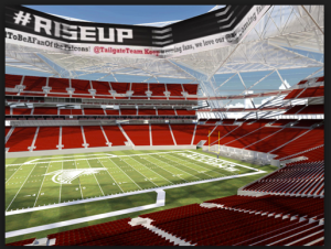 New Falcons Stadium