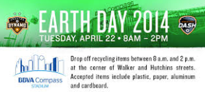 Houston Dynamo Earth Day
