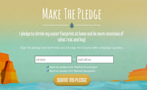 Change The Course Pledge