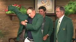 Billy Payne Spieth Green Jacket