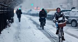 Danish bike commuters