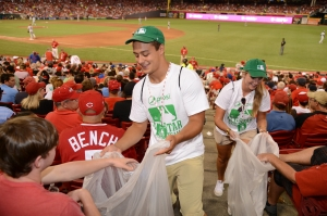 MLB ASG 2015 7-14-15 Green Teams Great American Ball Park Cincinnati, OH Photo by Robert Binder/MLB