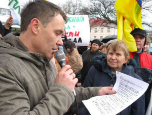 Enviro Protestor Russia