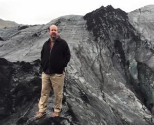 Mann Iceland Glacier