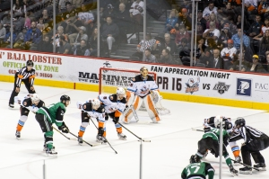 San Diego Gulls vs Texas Stars 2016 Playoffs - Round A at the Valley View Casino Center in San Diego, CA on 4/28/2016