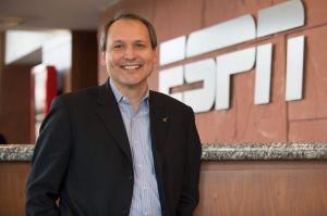 Bristol, CT - March 5, 2013 - Photo Studio: Portrait of ESPN's Kevin Martinez (Photo by Rich Arden / ESPN Images). .