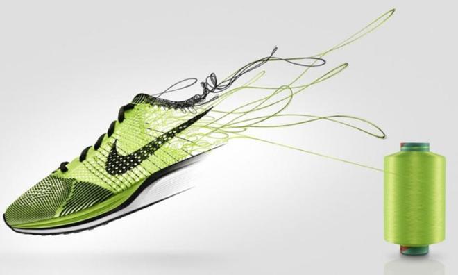 d8e2657c762 The Nike Flyknit Shoe (Photo credit  Nike)