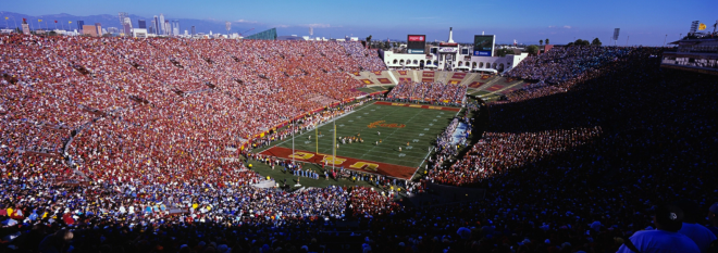 la-coliseum-usc-neil-leifer