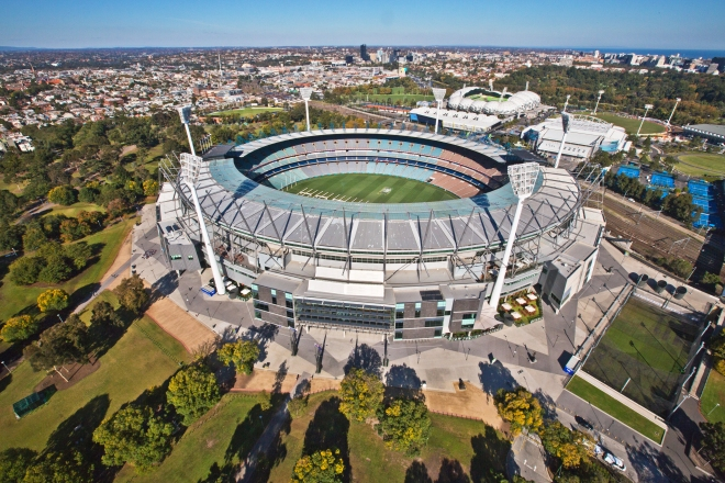 Melbourne Cricket Ground Mat Tubb – Airship Solutions