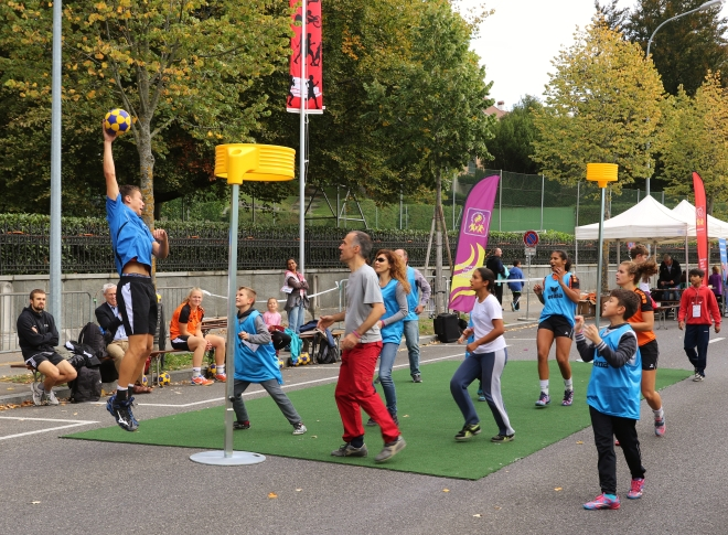 Korfball with kids 2015