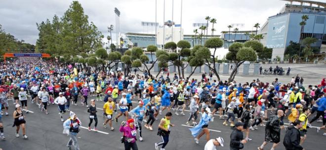 LA Marathon Start