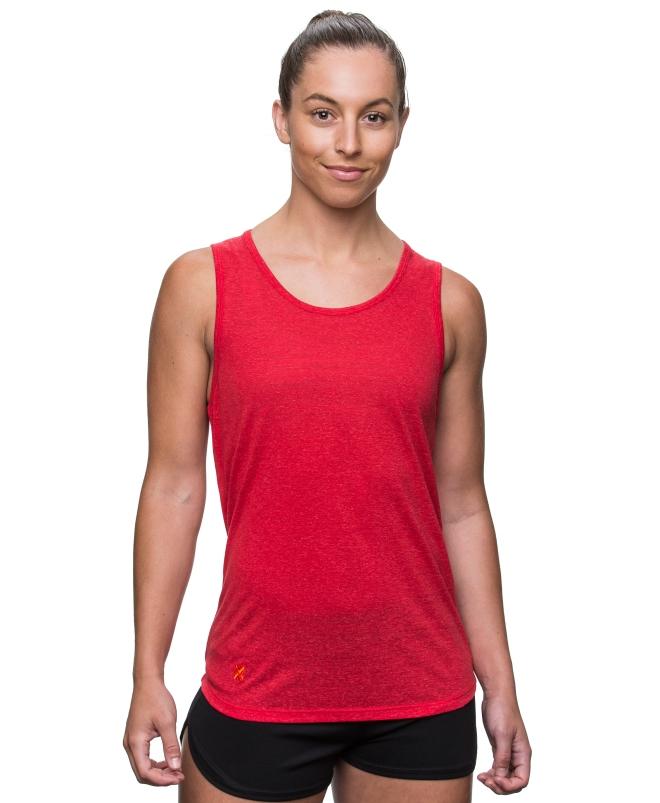 Kusaga Red Yoga Top