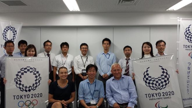 Tokyo 2020 SUS team