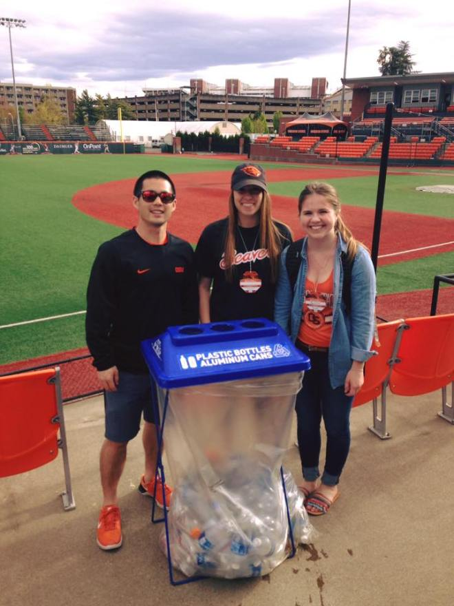 OSU Baseball Recycling