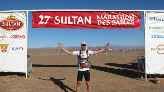 Luke Tyburski Marathon des Sables Jamie Fricker