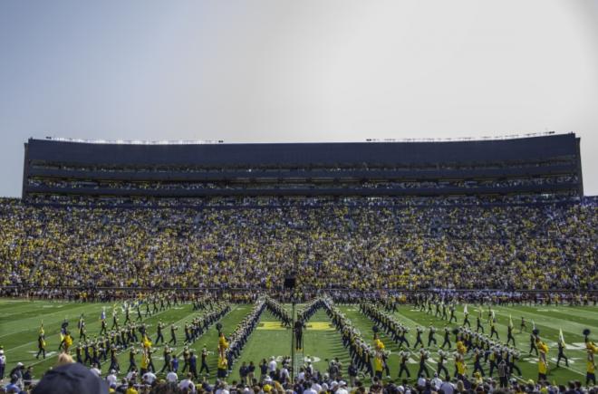 Michigan Stadium Evan Aaron Daily