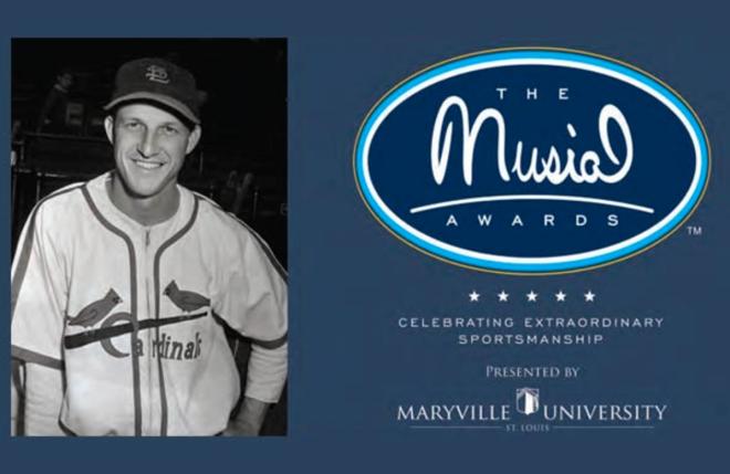 Musial Award Sign