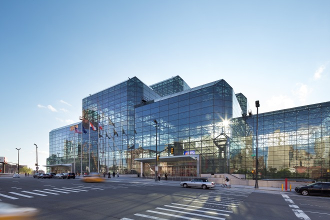 Javits Exterior Upgraded Glass