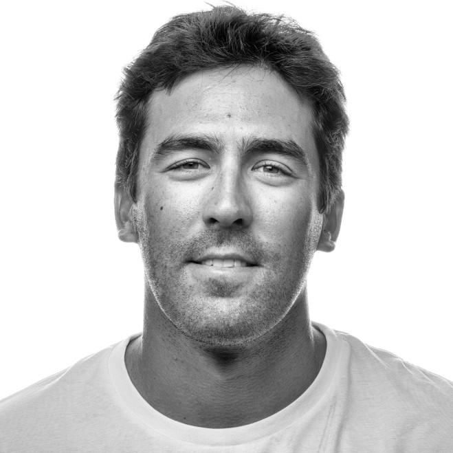 Vestas 11th Hour Racing crew portrait. Mark Towill