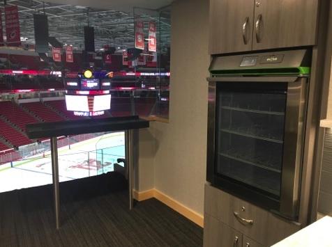 Phononic fridge PNC Arena