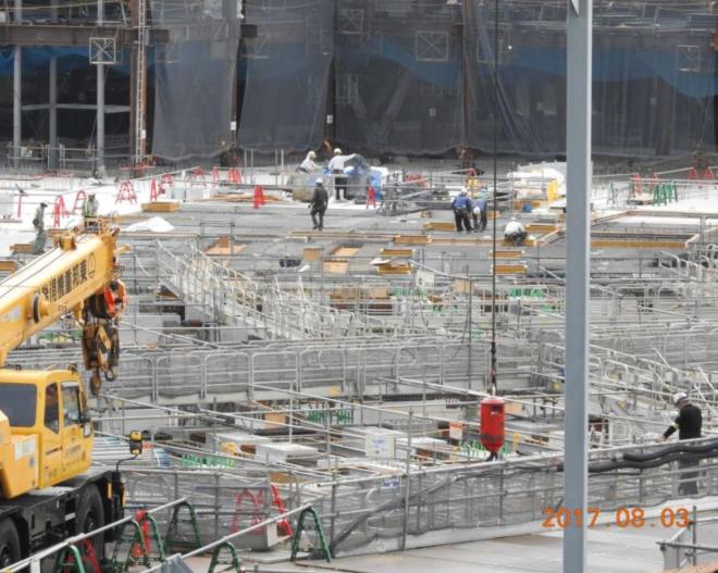 Tokyo Stadium Construction