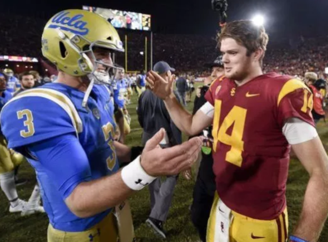 Rosen Darnold Kevin kuo USA Today