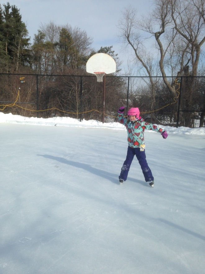 McLeman ANNA on Backyard Rink