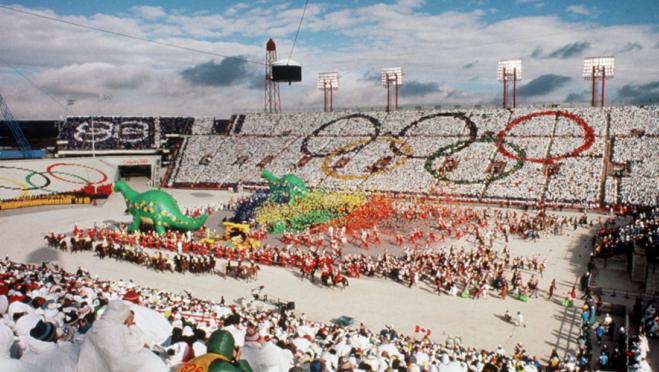 Calgary 1988 Opening Ceremonies