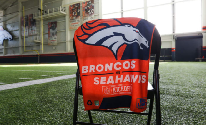 Rally Towel Broncos