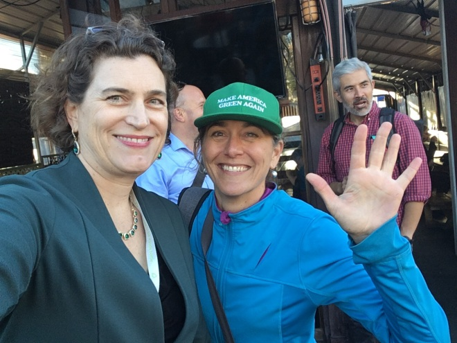 Andrea with Kate White at GCAS1
