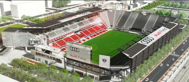 Audi Field Solar