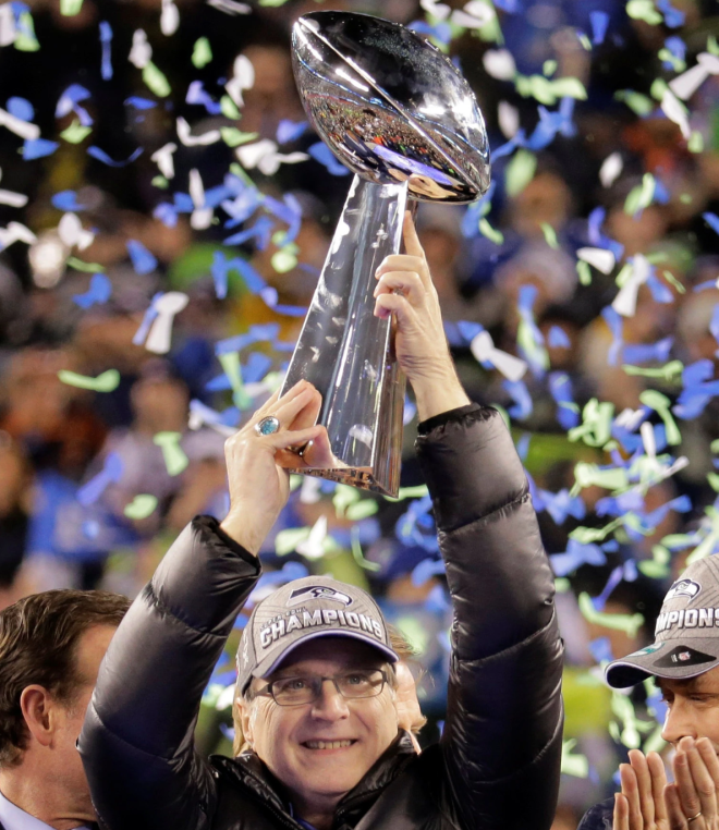 Paul Allen Super Bowl