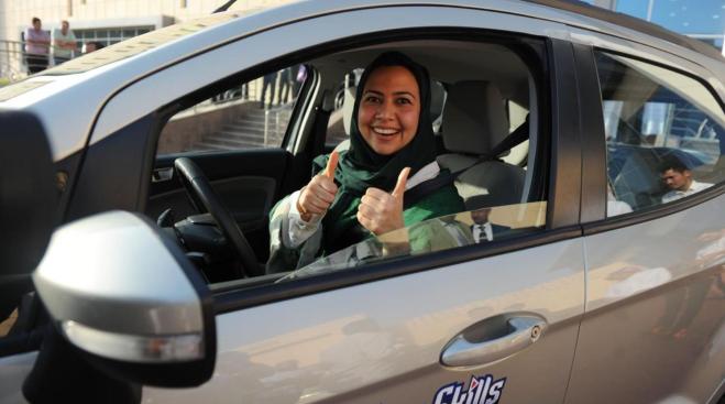 Woman driver Saudi