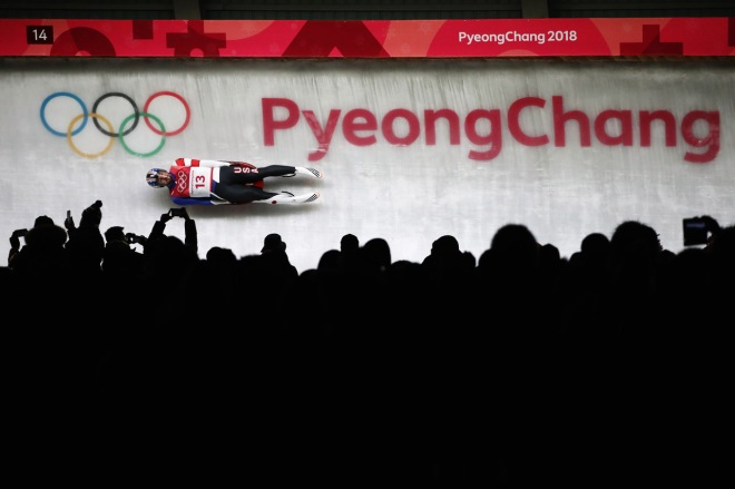 Luge - Winter Olympics Day 1