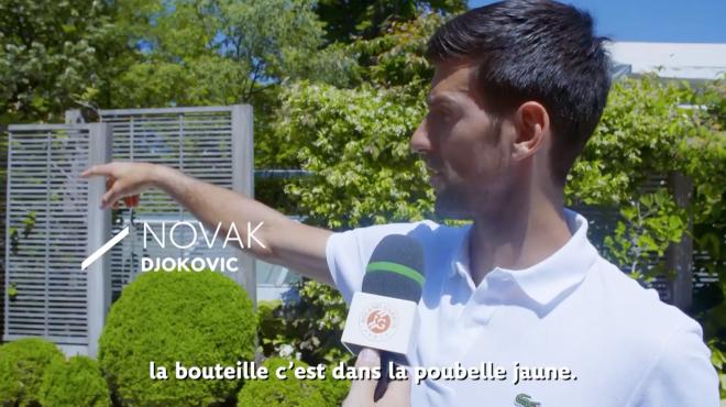 Novak Djokovic screen shot