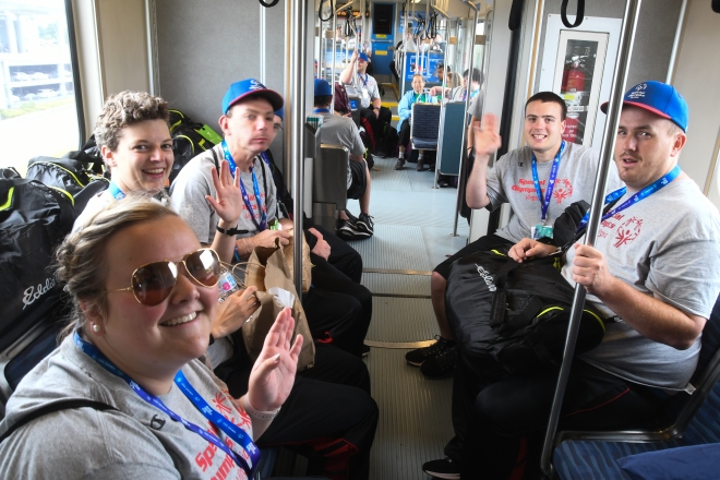 Special Olympics Light Rail
